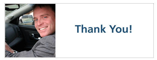 dealer website thank you page