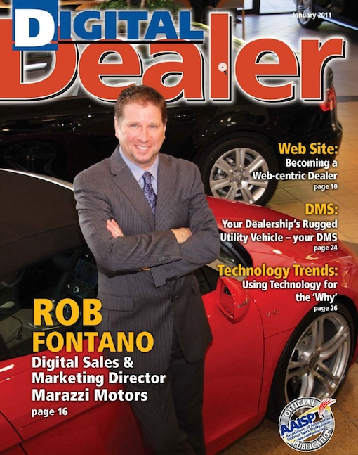 Image of Rob Fontano Digital Dealer Cover