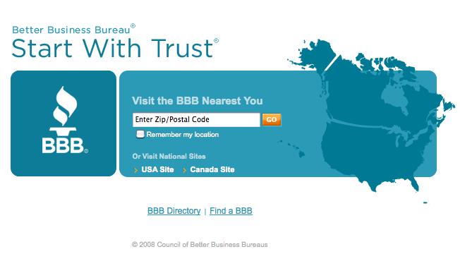 image of better business bureau