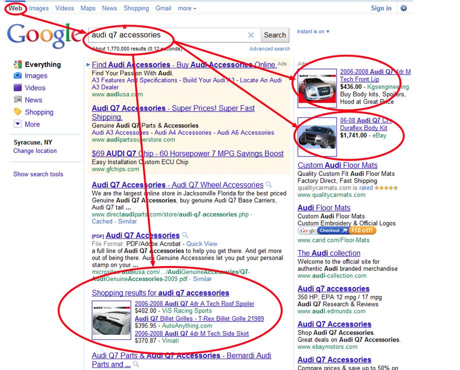 Google Search Audi