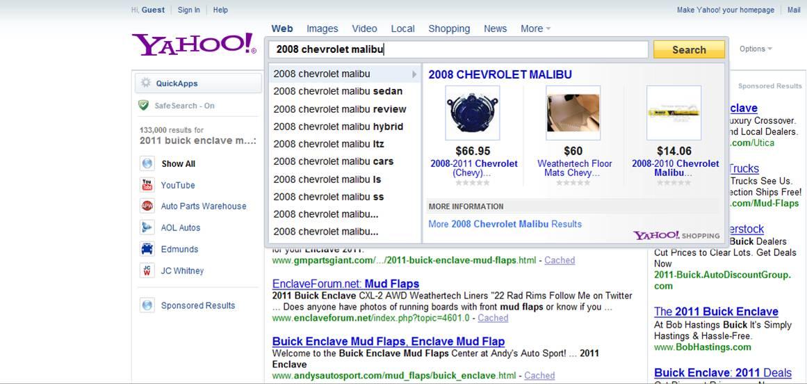 yahoo dealertrack search