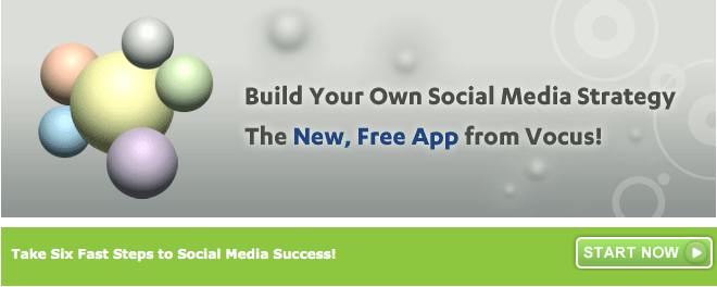 vocus social media tool get started