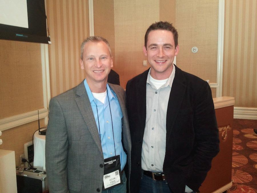 Kevin Frye and Matt Murray at Digital Dealer