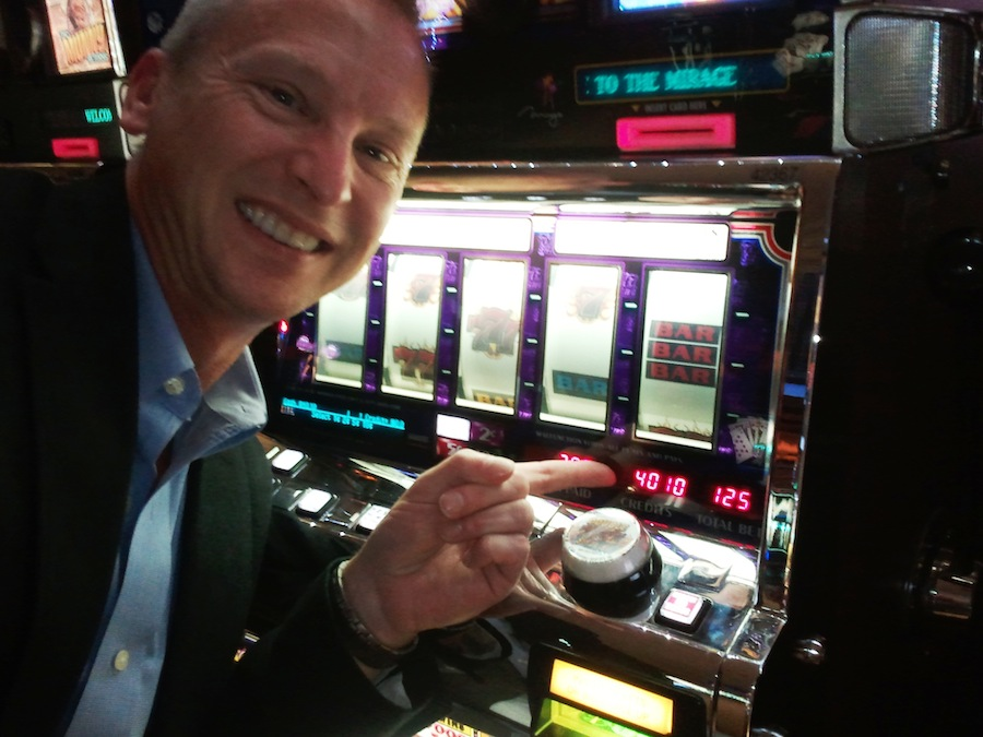 Kevin Frye at the Slots at Digital Dealer 11