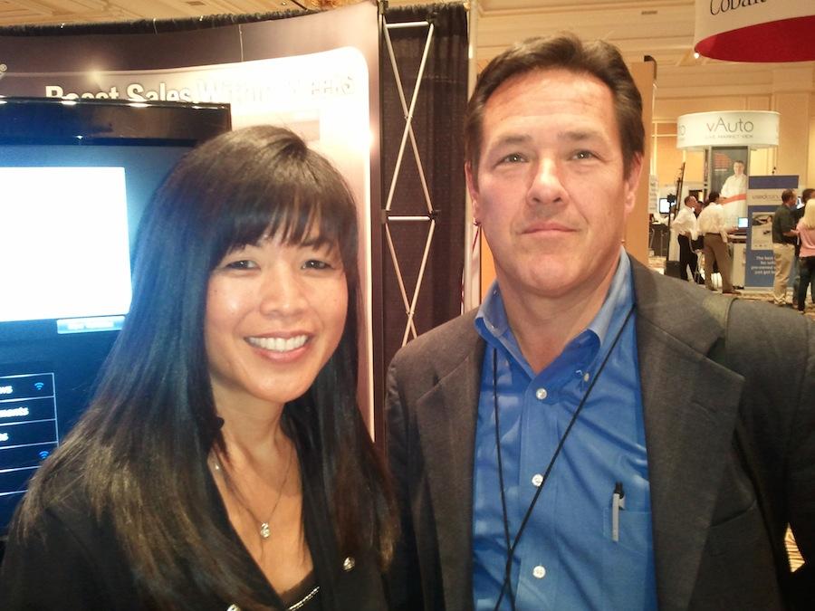 Vivian Holmes and Paul Rini at Digital Dealer 11