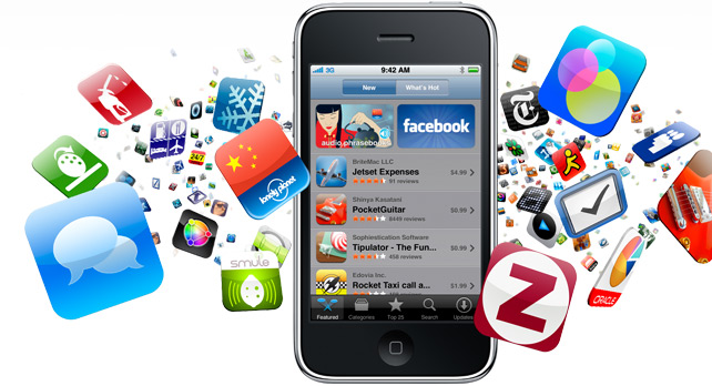 image of mobile applications