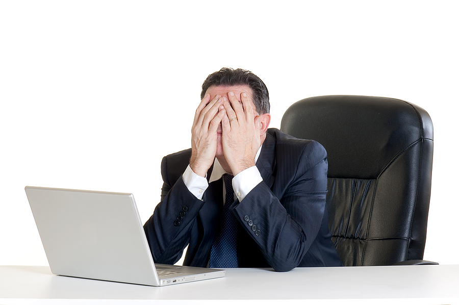 image of desperate manager for email reputation