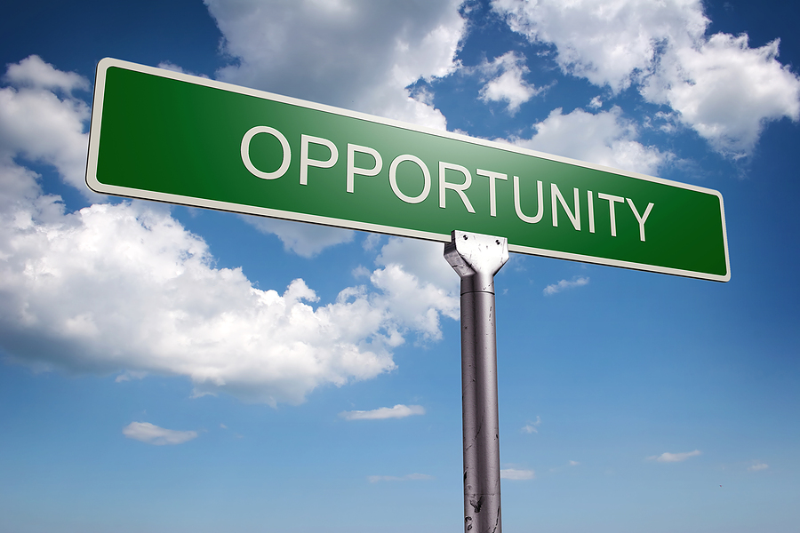 image of Opportunity sign