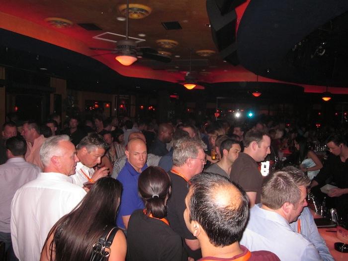 Blue Martini Party at Digital Dealer 12