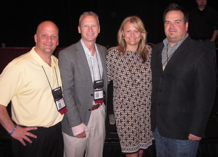 Bryan Armstrong Kevin Frye Nikki Allen Shaun Raines at Digital Dealer 12