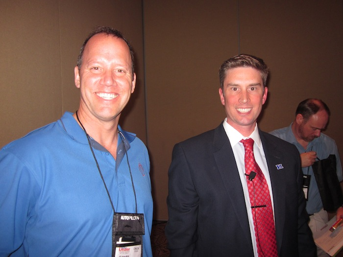 Chuck Olsen and Greg Coleman at Digital Dealer 12