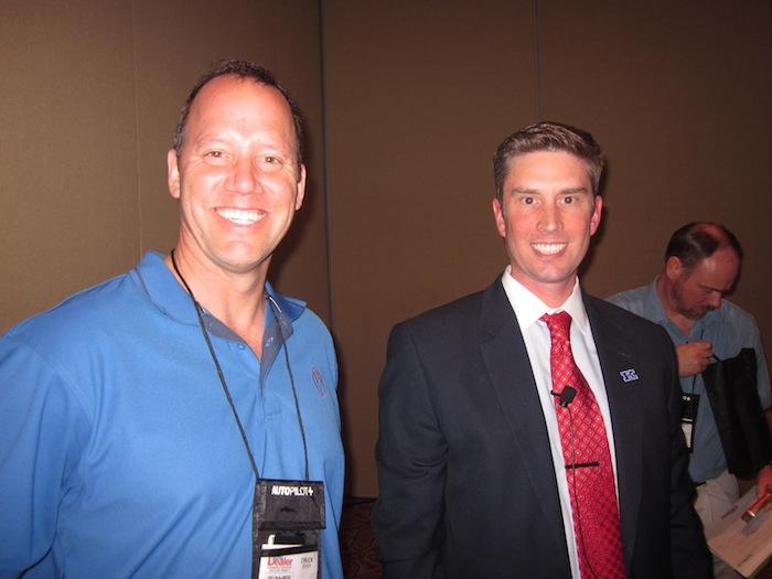 Chuck Olsen and Greg Coleman at Digital Dealer 12