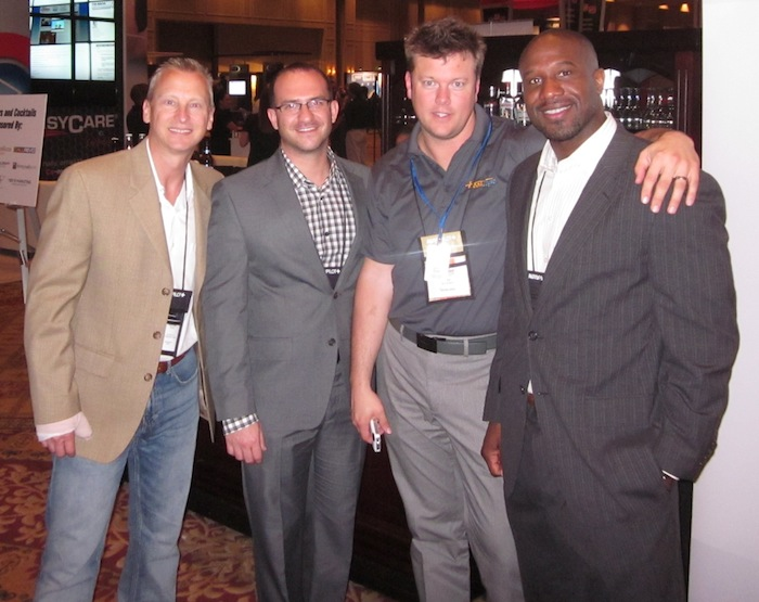 Kevin Frye Shawn Petley Jeff Kershner Alex Jefferson at Digital Dealer 12