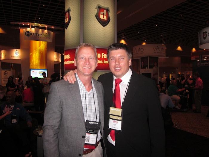 Kevin Frye and Jesse Biter at Digital Dealer 12
