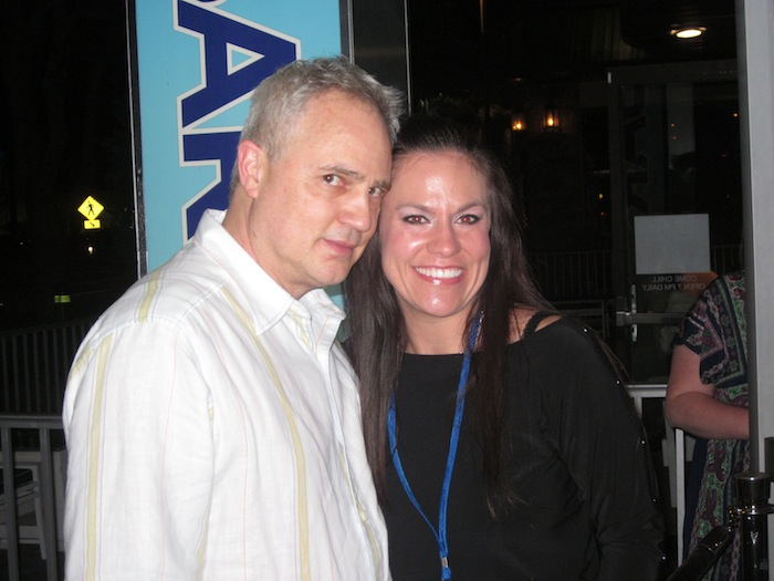 Mark Boyd and April Rain at Digital Dealer 12