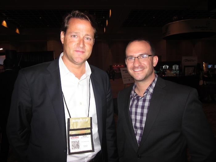 Sean Wolfington and Shawn Petley at Digital Dealer 12