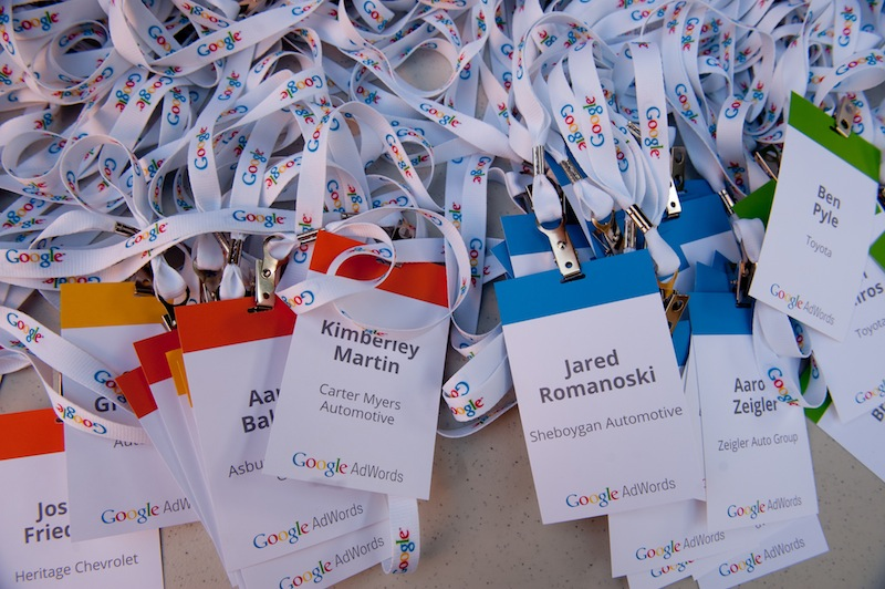 photo of Google Name Tags
