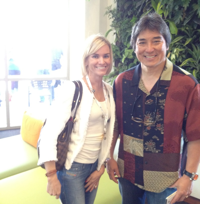 photo of Kate Frost and Guy Kawasaki DSMV