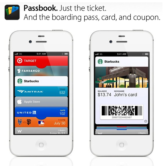 image of IOS6 Passbook