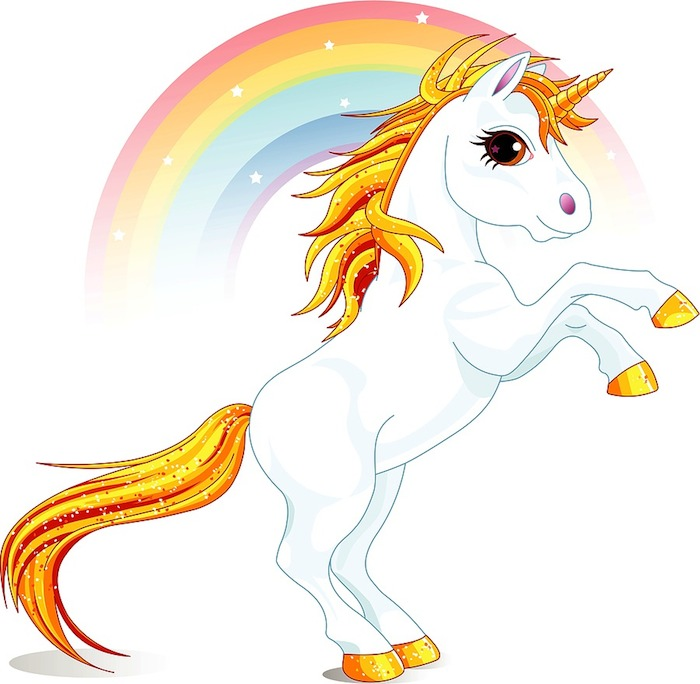 image of unicorn in the land of social media