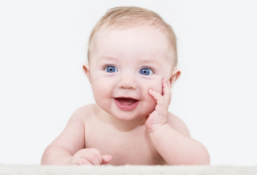 image of cute baby boy