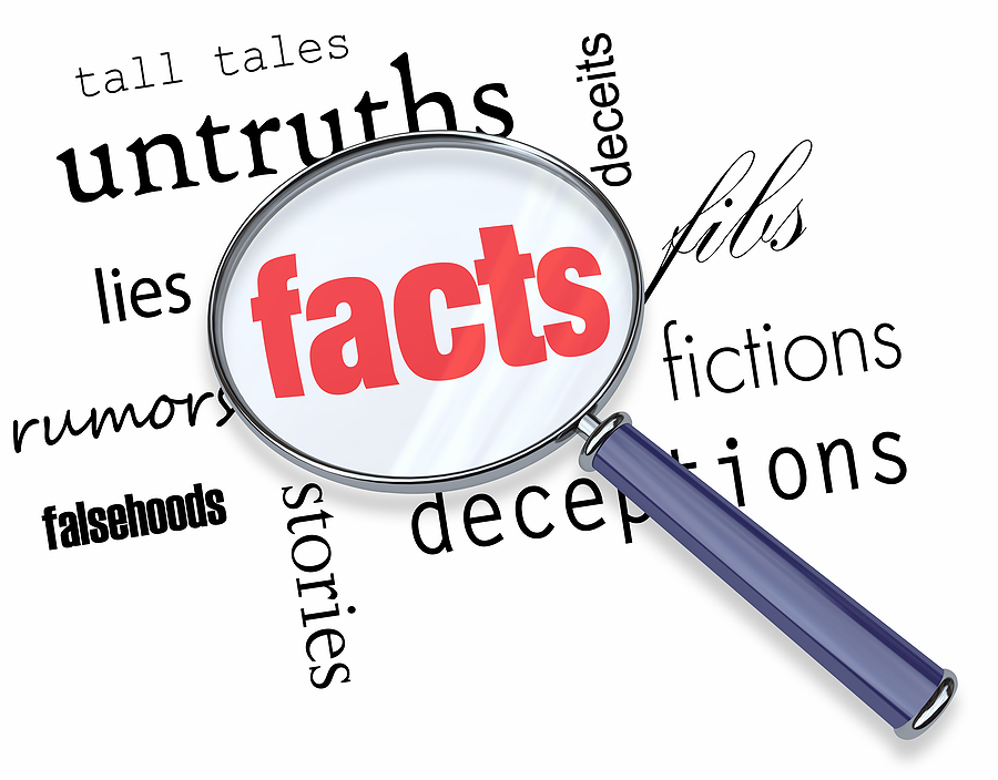 Searching For Facts Vs Fiction