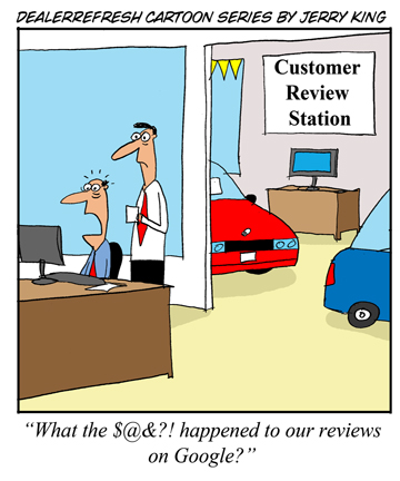 DealerRefresh Cartoon - Google Reviews