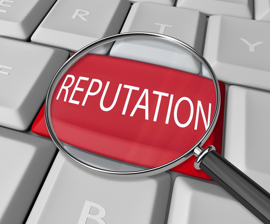 Dealership Reputation Keyboard Key
