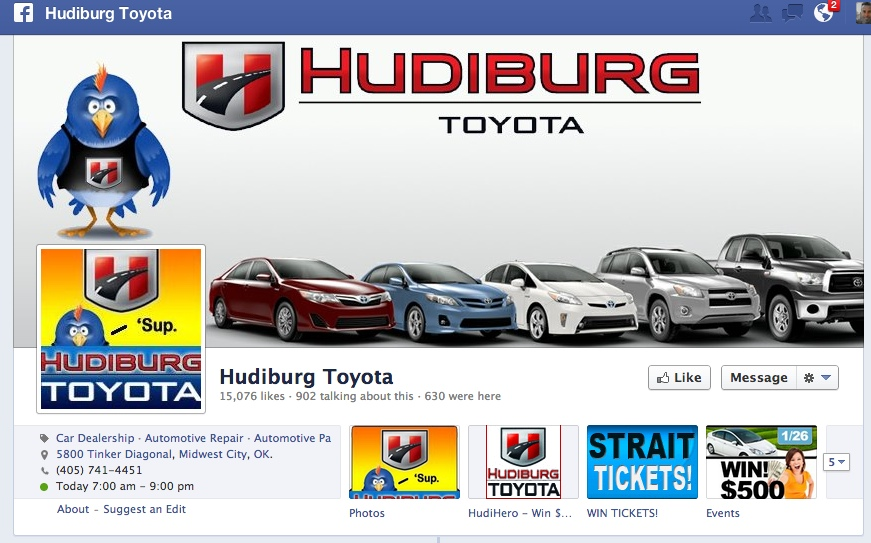 Hudiburg Toyota on Facebook
