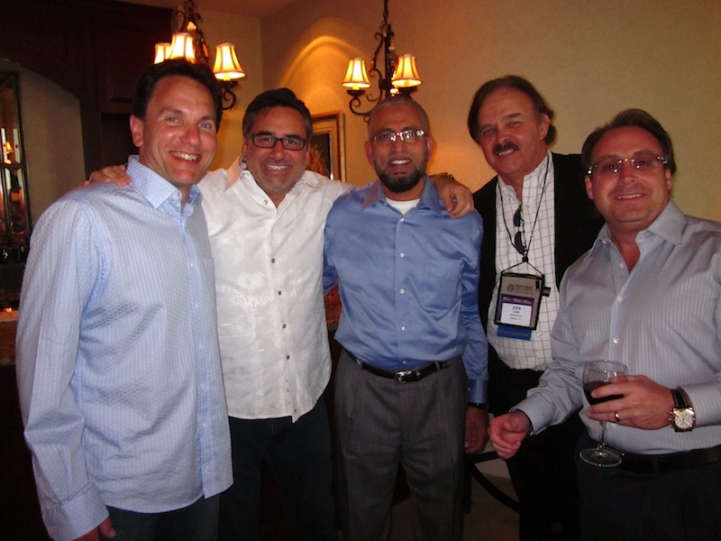 Key Players in Automotive Join Mike Roscoe at a Pre-DD14 Cocktail Party