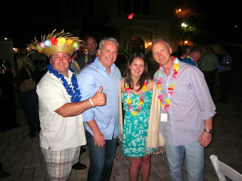 Sean Stapleton, Kendall Billman, Jessica Wyler, and Kevin Frye enjoy Digital Dealer 14