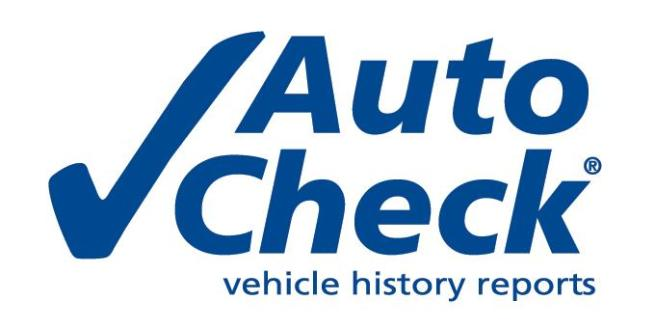 AutoCheck Vehicle History Reports to Appear on AutoTrader Starting September 2013