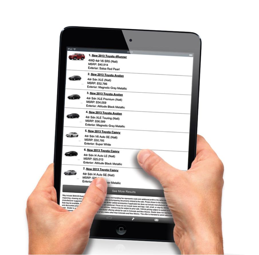Mobile Guide for Car Dealerships