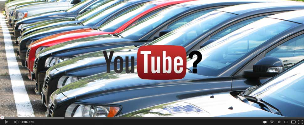 YouTube at Automotive Dealership