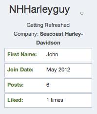 community member NHHarleyguy
