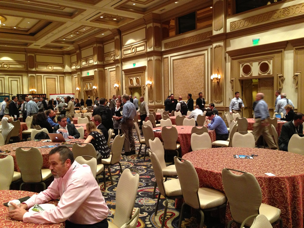 The exhibit hall at Driving Sales Executive Summit