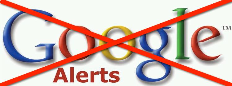 Google Alerts Going Away