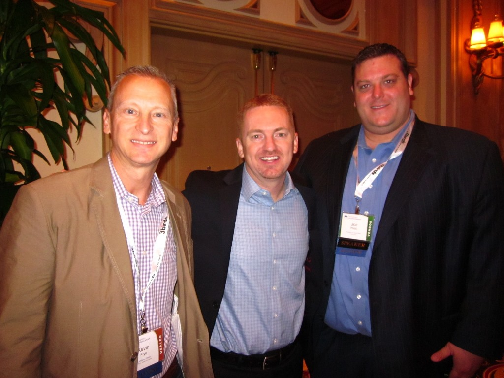 Joining Jared Hamilton and Joe Webb for my first full DSES Conference
