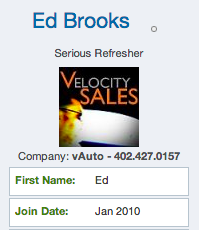 Ed Brooks DR Community Profile