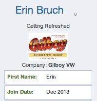 Erin Bruch DR Community Profile