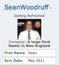 sean woodruff member profile