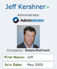 jeff kershner forum member