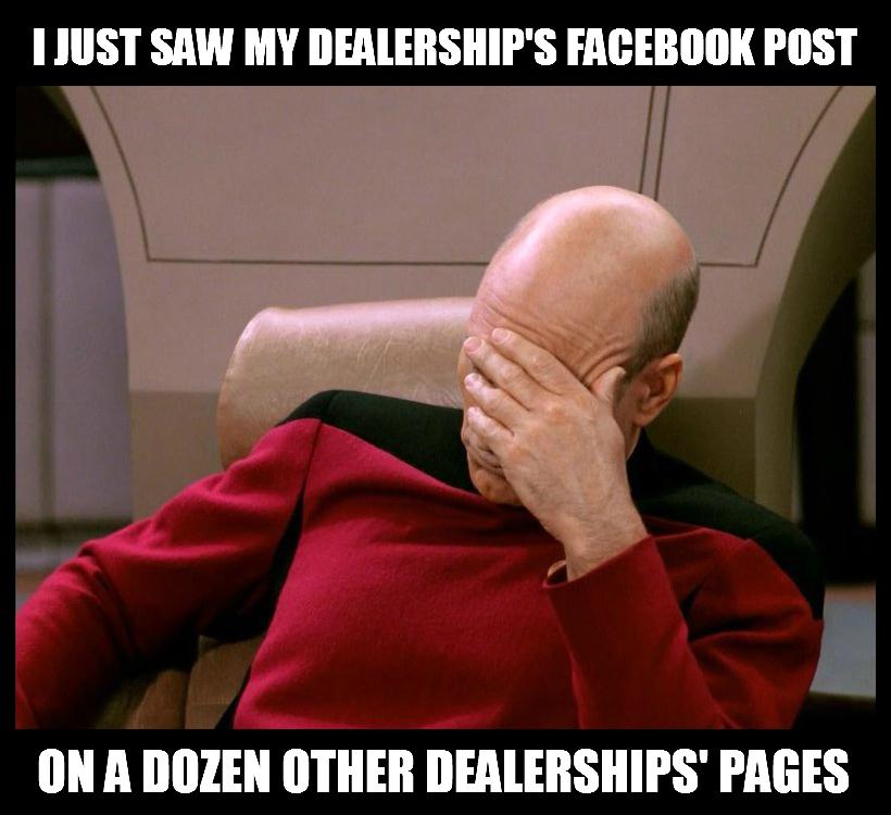 Duplicate Content Social Media