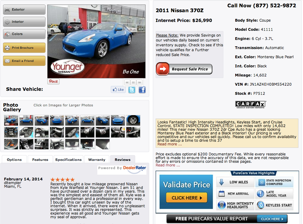 What Makes the ULTIMATE Dealership Website VDP?