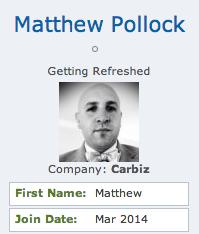 Matthew Pollock member photo