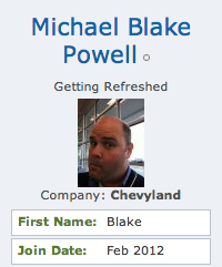 Michael Blake Powell memberphoto