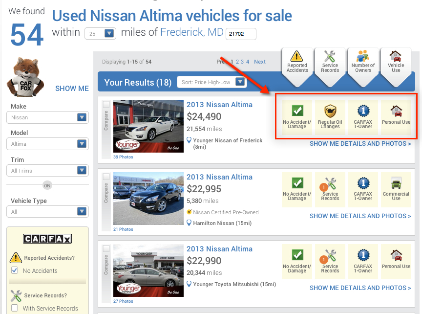 Find your next car on Carfax.com?