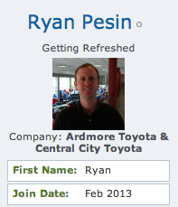 Ryan Pesin community bio photo