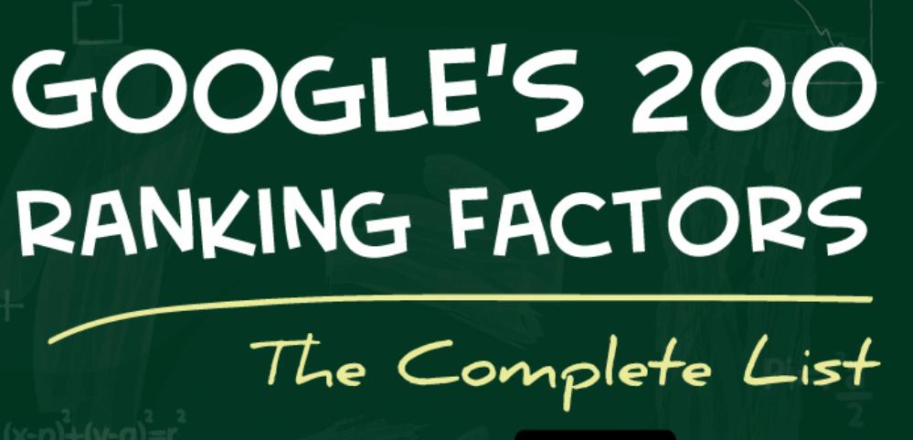 Google's 200 Ranking Factors – The Complete List