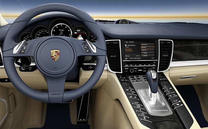Porsche Connected Car